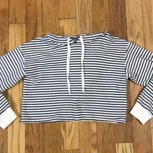 American Eagle Ahh-mazingly Soft Cropped Hoodie S